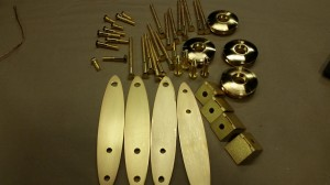 decorative gold plating